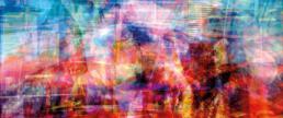 tim neiser kunst art foto photo abstrakt abstract Essenz essence color Explosion structure Struktur kino filme Einkaufsstraßen richter white wall Galerie gallery