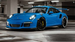 Neiser Filmproduktion Düsseldorf new id car commercial auto Werbung Porsche gt3rs spot blue blau race racing tim Neiser regisseur direktor